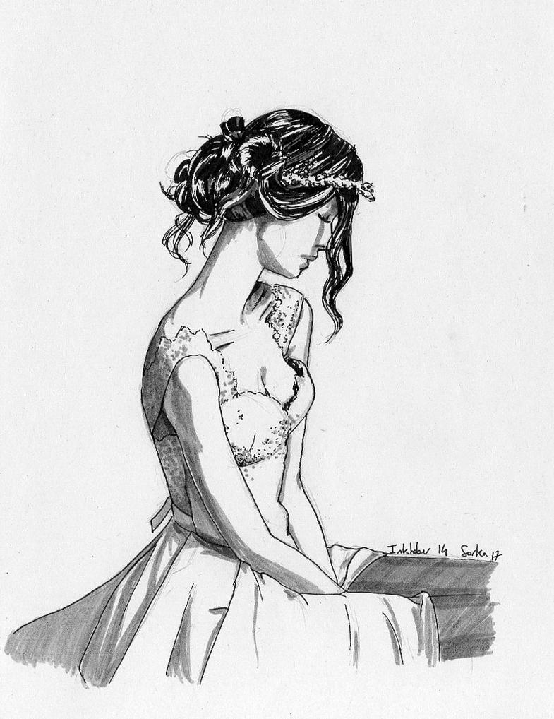 Inktober 2017 n14 Bride by Sorka-of-Eawy