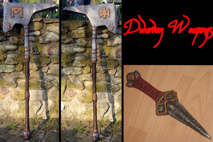 Dwarven Weapons by der-Alchemist