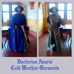 An Alchemists' Winter Garments