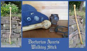 The alchemist's walking stick