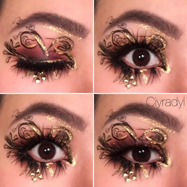 foto de tim burton inspired makeup Style Guru: Fashion Glitz