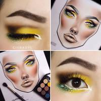 Yellow parrot  by Ciyradyl