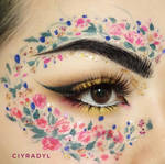 Wreath of peonies  by Ciyradyl