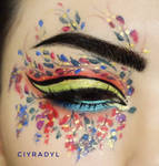 Flowers in the wind by Ciyradyl