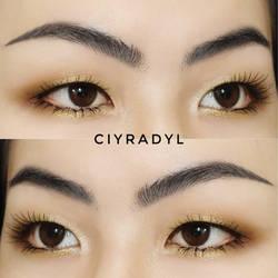 Gold prom makeup by Ciyradyl