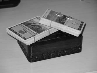 Cards Chest monochrome by philjo1005
