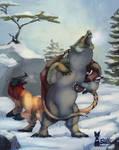 Kukuri: Hunting I - Angry Bear