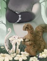 Kukuri: wild  BTT2, Hazel and Avens by SmirkCatsTales