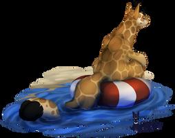Kukuri: huff, it's hot by SmirkCatsTales