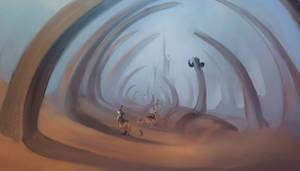 Traveling: Spinepath by SmirkCatsTales