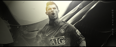CR7 Man U by MostafaGFX