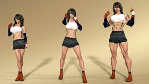 DAY 9: Tifa Lockhart Transformation Sequence