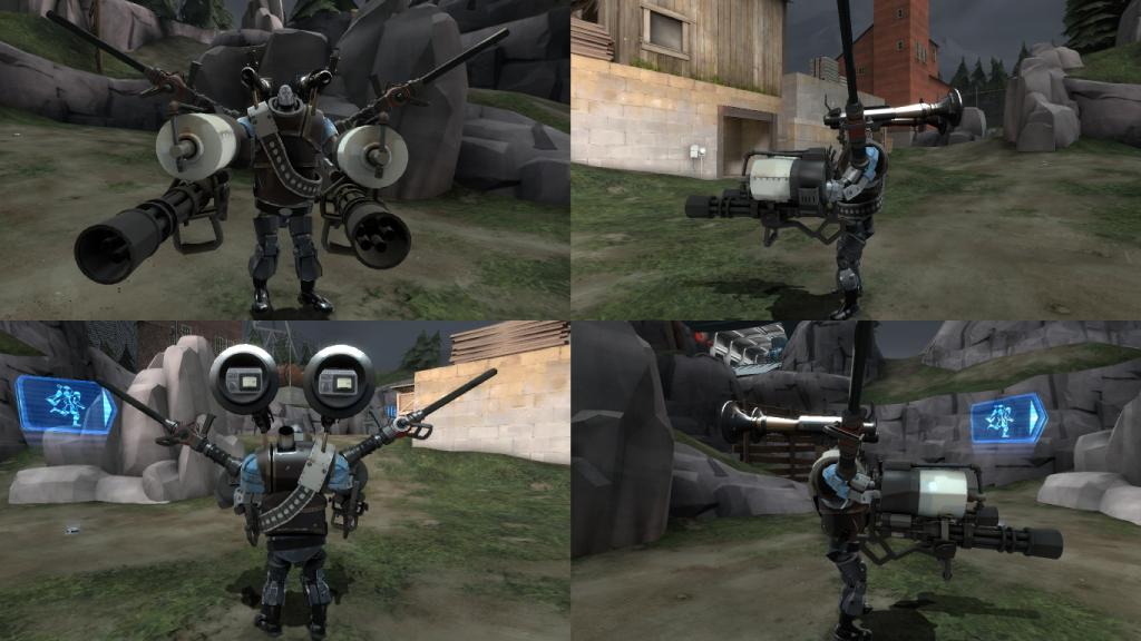 garrison 2 mann vs machine