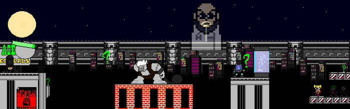 Batman Arkham City 8-bit by MarioKonga