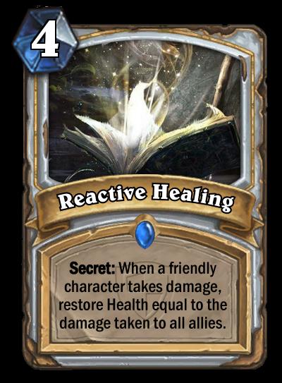 Reactive Healing by MarioKonga