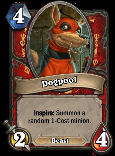 Dogpool by MarioKonga