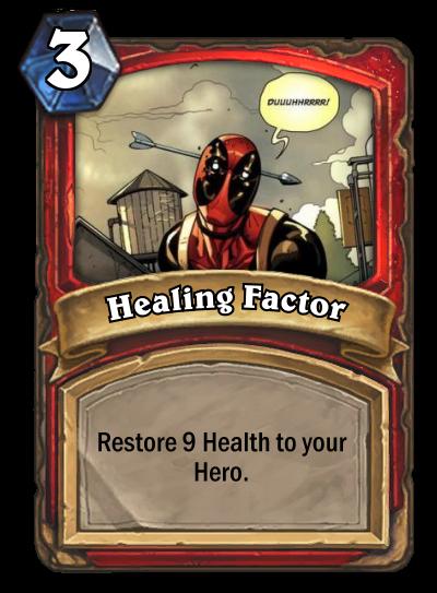 Healing Factor by MarioKonga