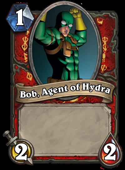 Bob, Agent of Hydra by MarioKonga