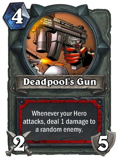 Deadpool's Gun by MarioKonga