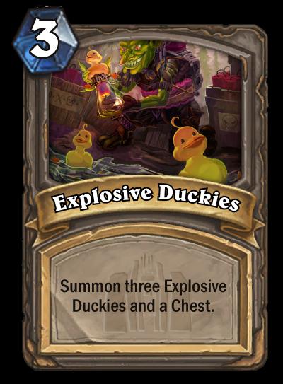 Explosive Duckies by MarioKonga