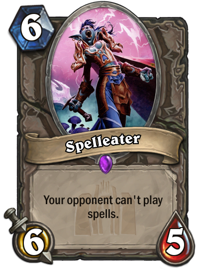 Spelleater by MarioKonga