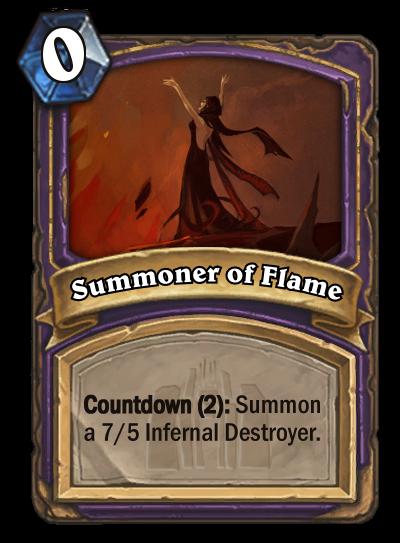 Summoner of Flame (2) by MarioKonga