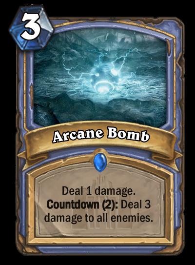 Arcane Bomb by MarioKonga