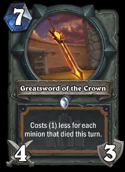 Greatsword of the Crown by MarioKonga