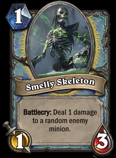 Smelly Skeleton by MarioKonga