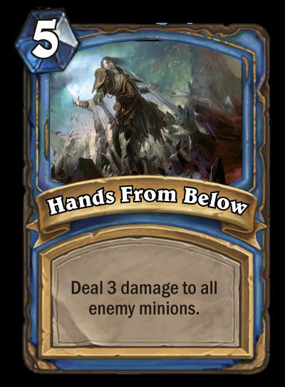 Hands From Below by MarioKonga