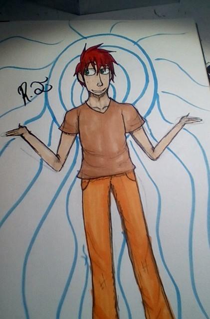 another character idea by ReyJayArt