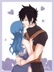 Stay always by my side, Juvia~