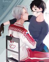 Yuri !!! on Ice by ksmile1313
