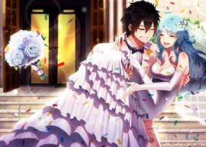 gruvia wedding