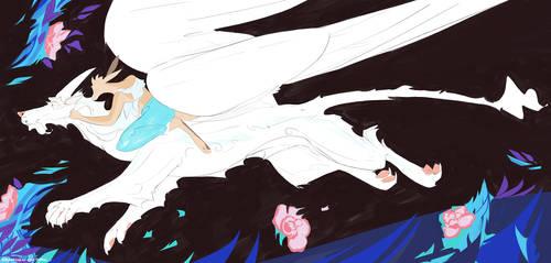 Ride the white Dragon