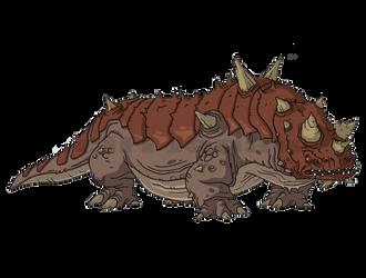 Thorny Devil - Godzilla: The Series by HYPERGODZILLA