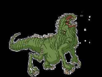 Area 51 Mutation #1 - Godzilla: The Series by HYPERGODZILLA