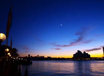 Sydney Sunrise by MariaChrystal