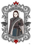 Arya Stark by lauramarcuet