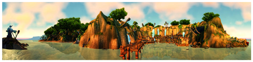 Panorama: Booty Bay by Khalindora