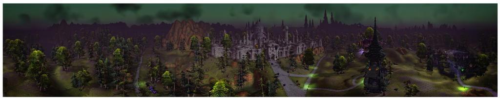 Panorama: Tirisfal by Khalindora