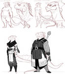 Argonian Character concpets