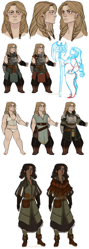 DnD: Ysolda and Joan