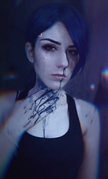 Blue haired Traci - Detroit become human