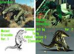 Gatorclaw Glowing Gatorclaw Mutant Croc Comparison