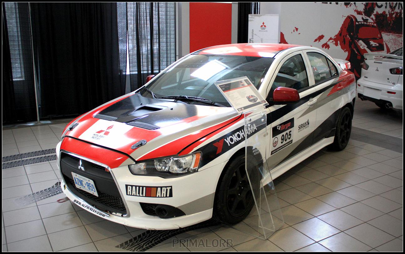 Mitsubishi Evo X Rally Car By Primalorb On Deviantart