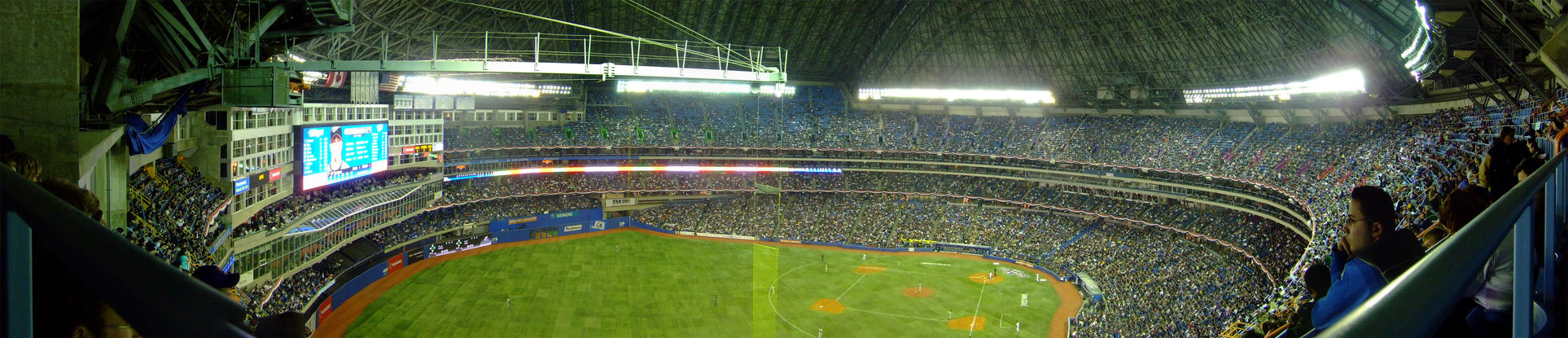 Rogers Centre Panorama by PrimalOrB