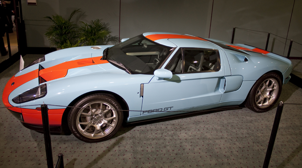Ford Gt Gulf Colours By Primalorb