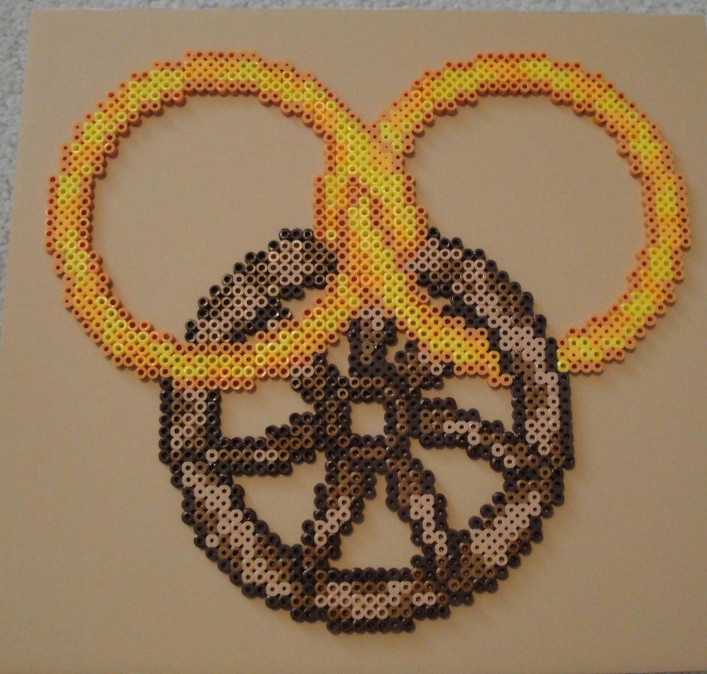 Wheel of Time Symbol Bead Sprite by Nicolel12