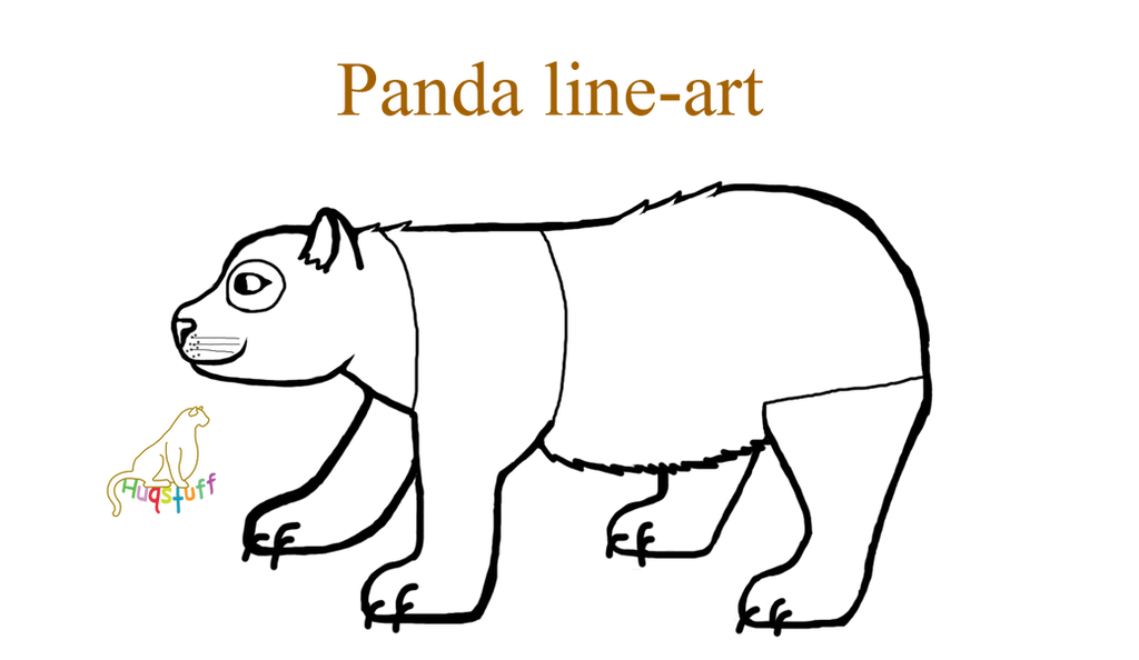 Q Line Art : Free panda line art by huqstuffadopts on deviantart
